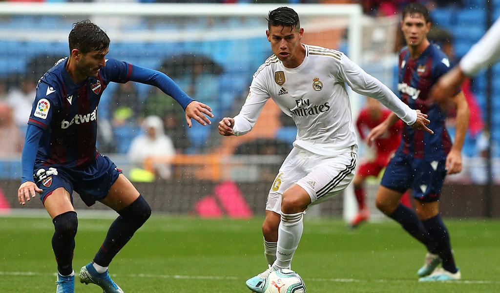 James Rodríguez enamora a los hinchas del Real Madrid