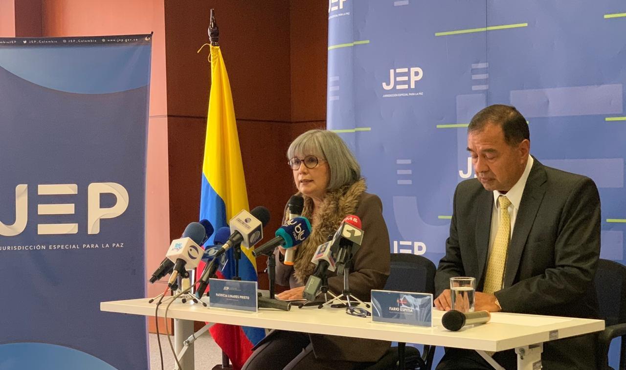 Casi 900 personas han solicitado acogerse a la JEP