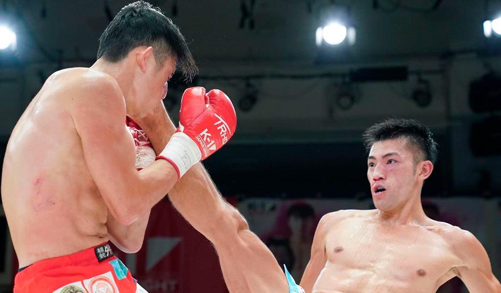 Luchador de kickboxing obtuvo un KO con una patada