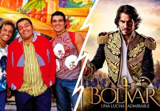 ¿Quién ganó el rating entre 'Bolívar' y 'Los Reyes'?