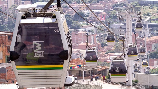Medellín será sede de congreso de transporte de cable urbano