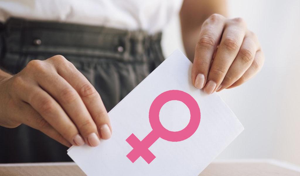 Candidaturas de mujeres sigue siendo un reto