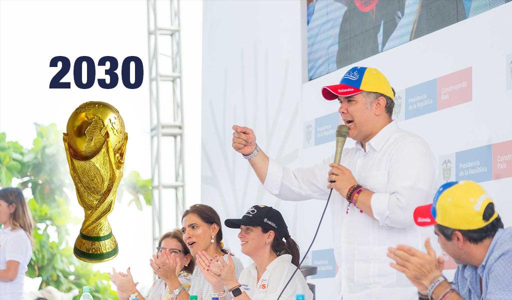 Países andinos se postularán para Mundial 2030