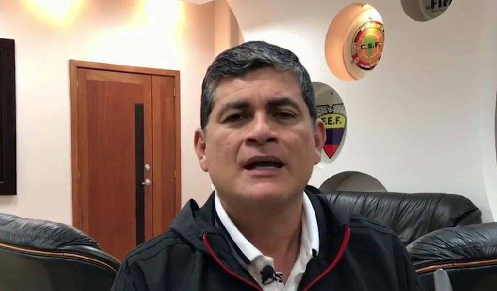 Denuncian a Oscar Julián Ruíz por presunto abuso sexual