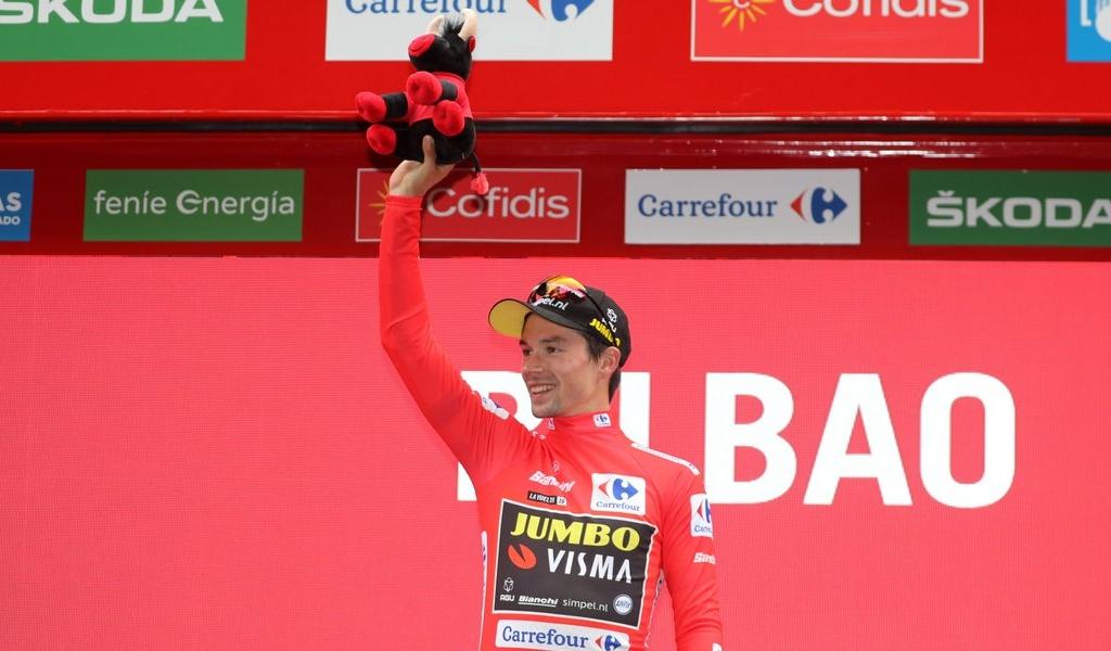 Quintana y López descienden en la general de la Vuelta