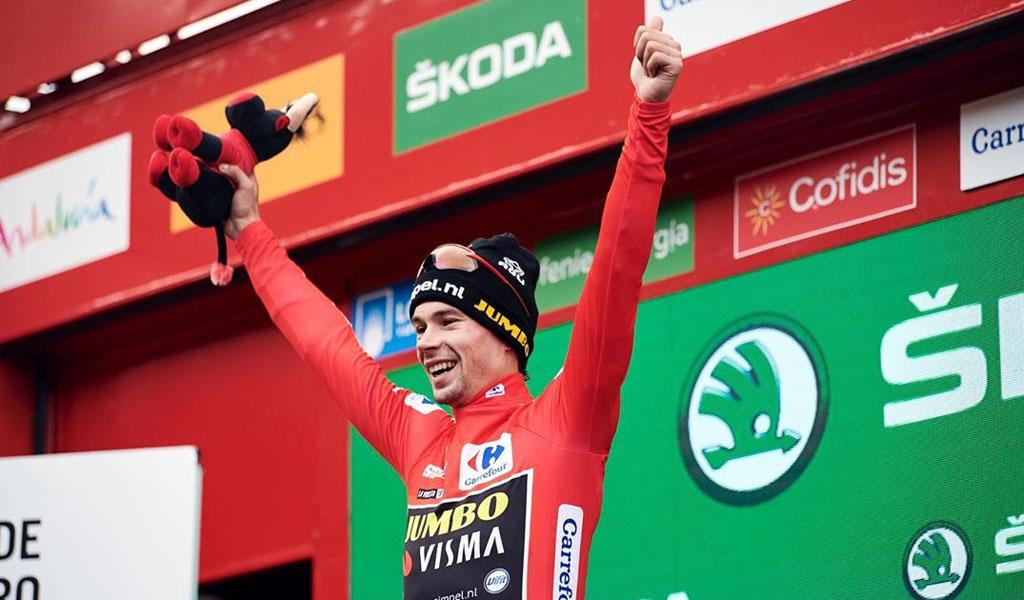 Primoz Roglic, ganador de La Vuelta a España 2019