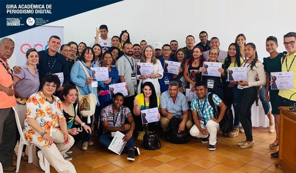 Valledupar acogió al taller de periodismo digital