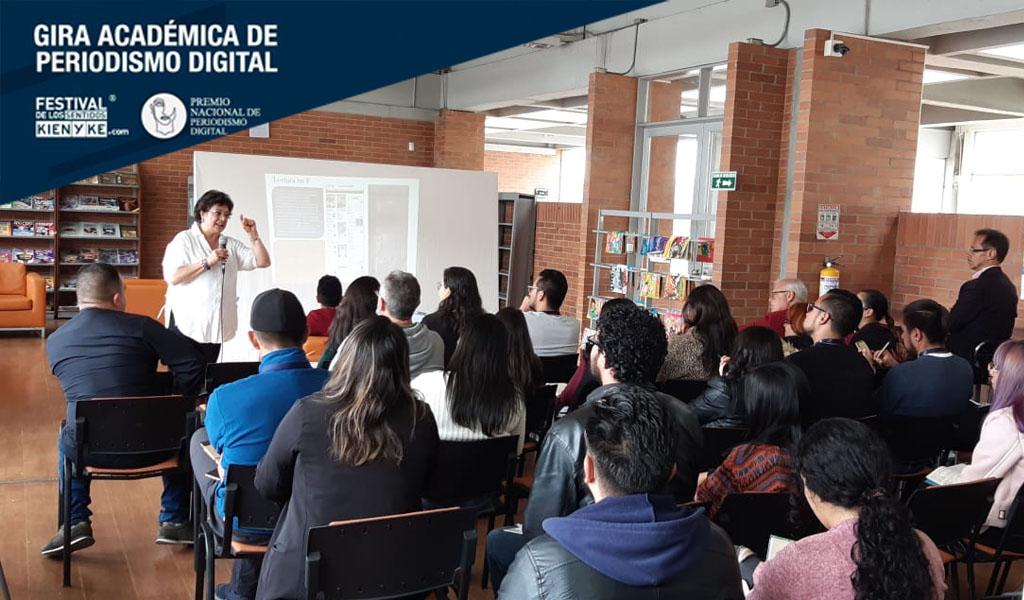 Zipaquira disfrutó del taller de periodismo digital