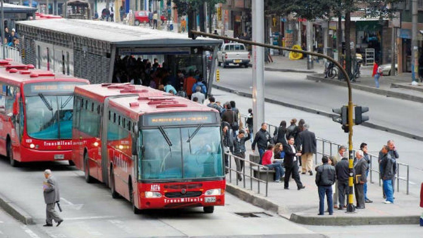 Estado, vías, trancon, portales, Bogotá, transporte