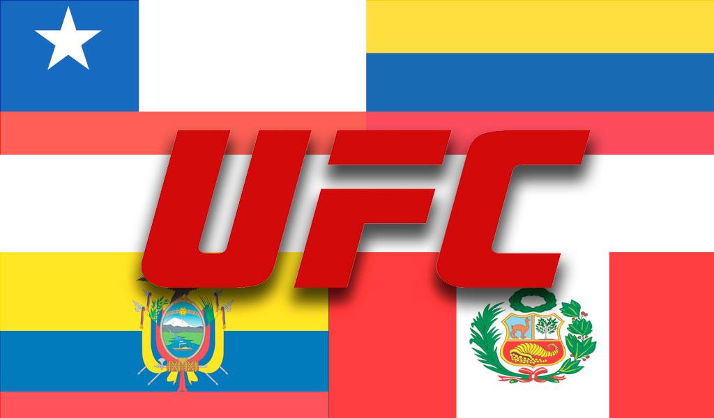UFC tiene como candidatos a países latinoamericanos