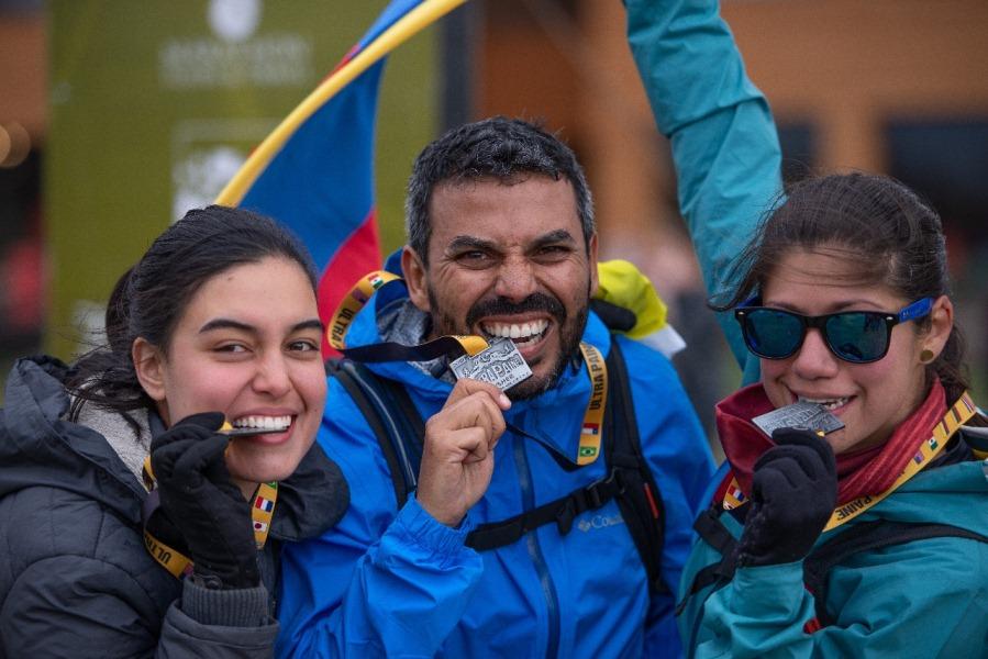 Atleta colombiano ganador en los 14k de Ultra Paine
