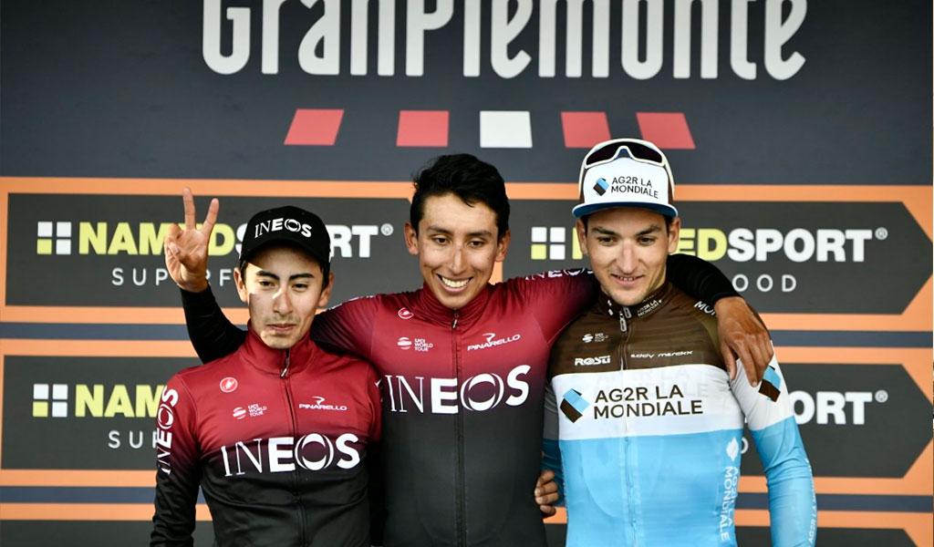 Bernal y Sosa, primer y segundo puesto en Italia