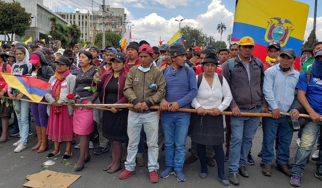 Lenín Moreno, marchas, Ecuador, protestan, diálogo
