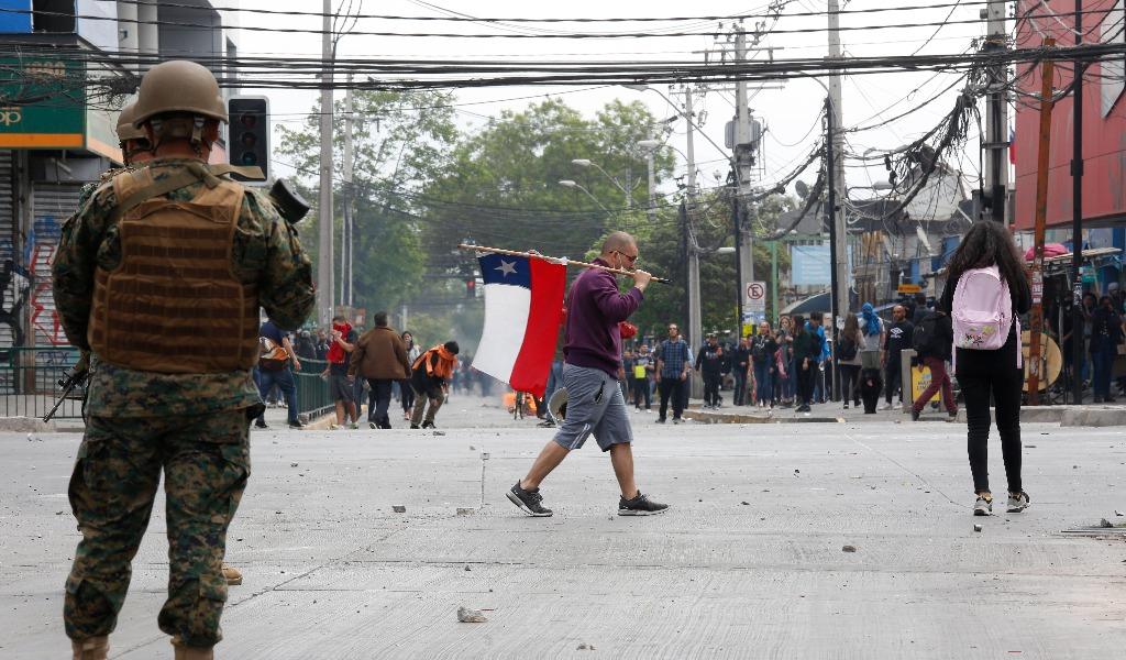 Confirman muerte de un colombiano en protestas en Chile