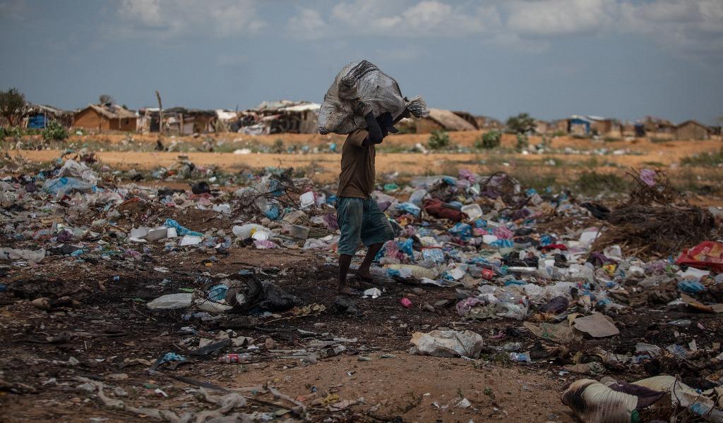 El plástico, un problema de contaminación en la Guajira
