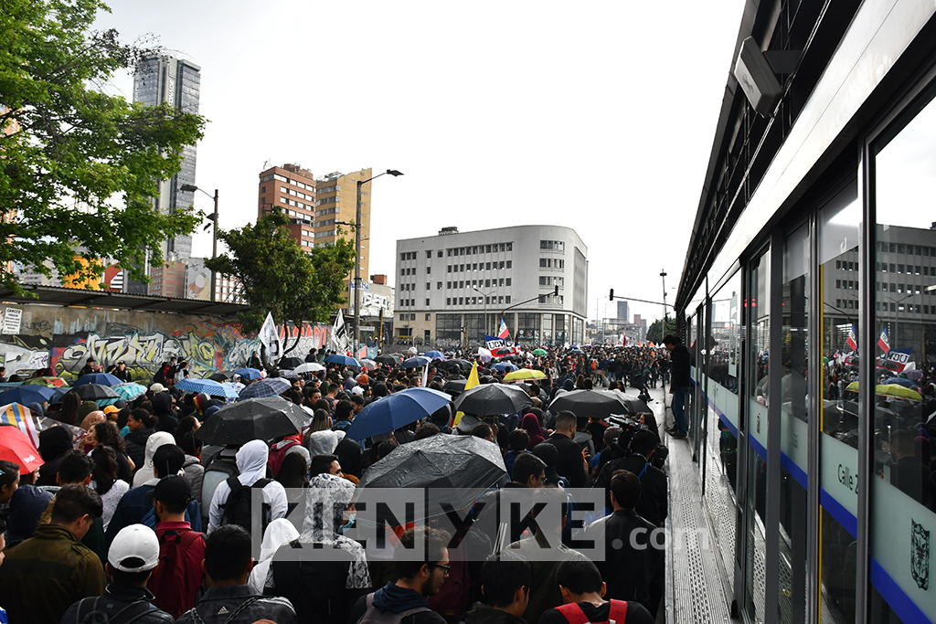 21 noviembre, concentración, Bogotá, paro nacional