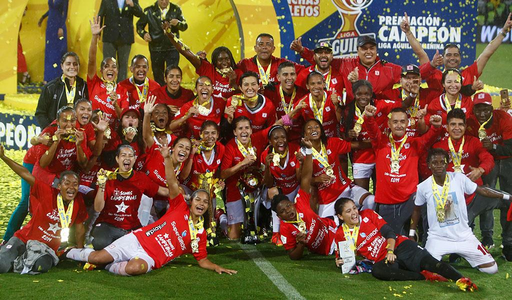 América de Cali Femenino, campeón de la Liga Águila Femenina