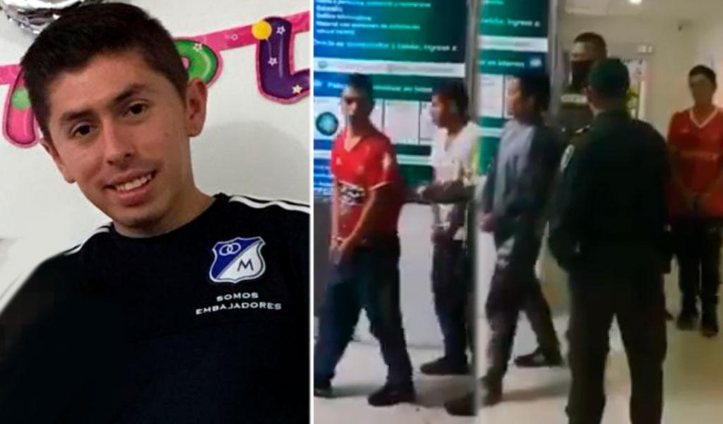 Cárcel para presuntos asesinos del hincha de Millonarios