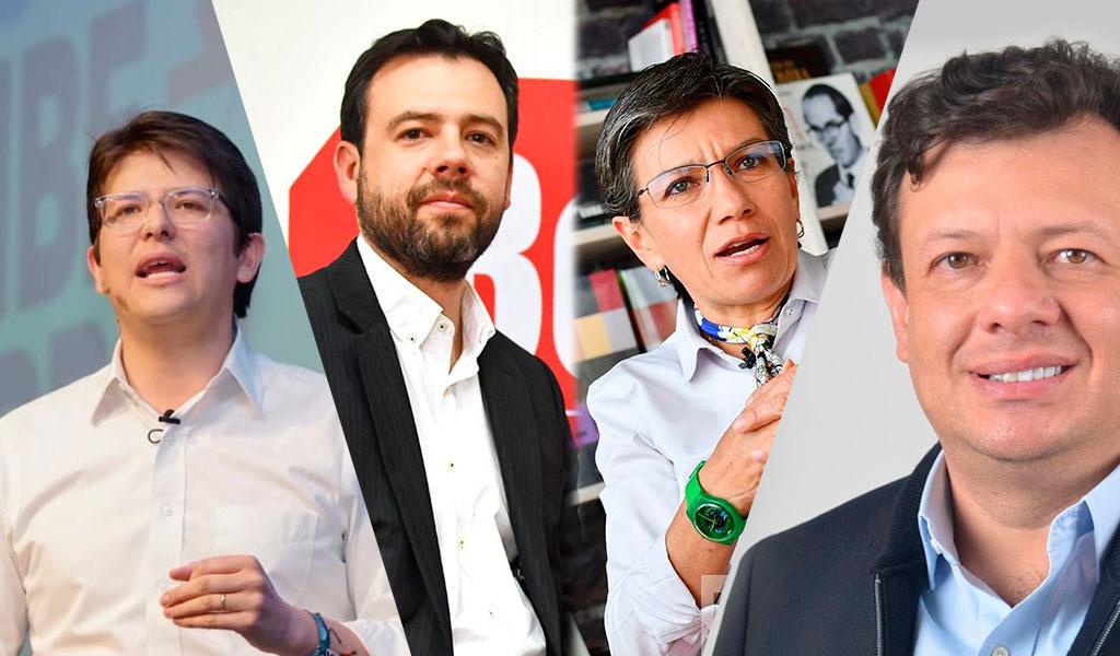 Así fue el cierre de campaña de los candidatos por Bogotá