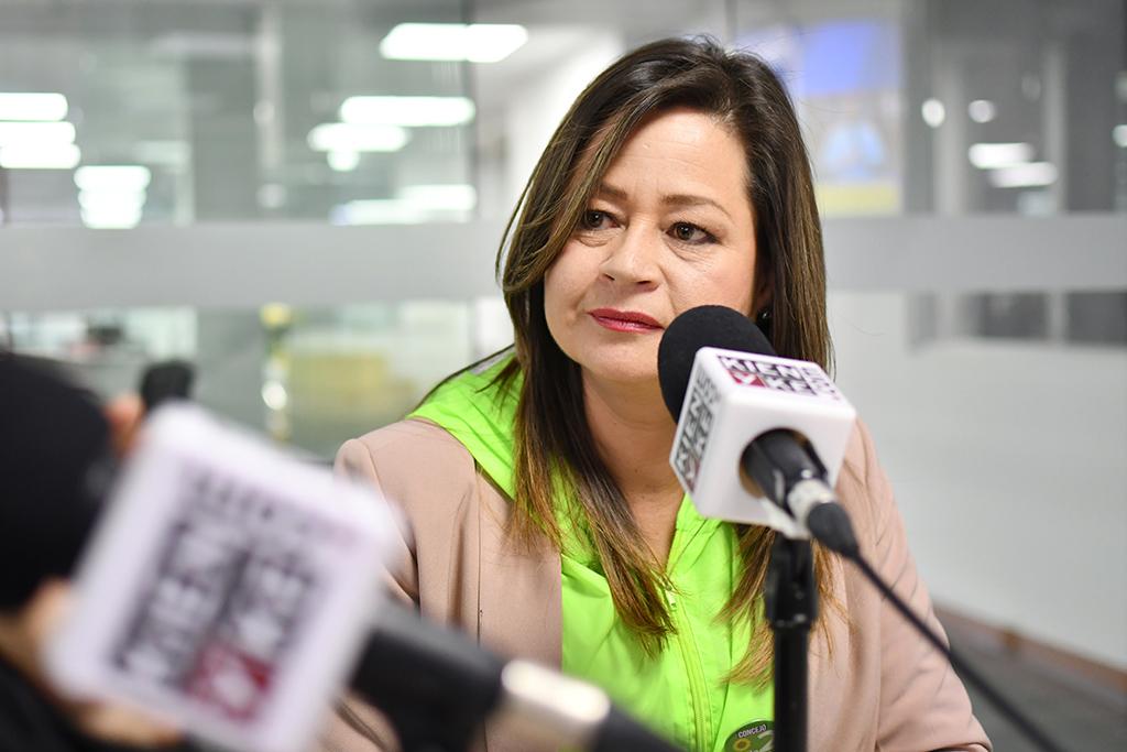 Mafe Rojas, la candidata que lucha contra la corrupción