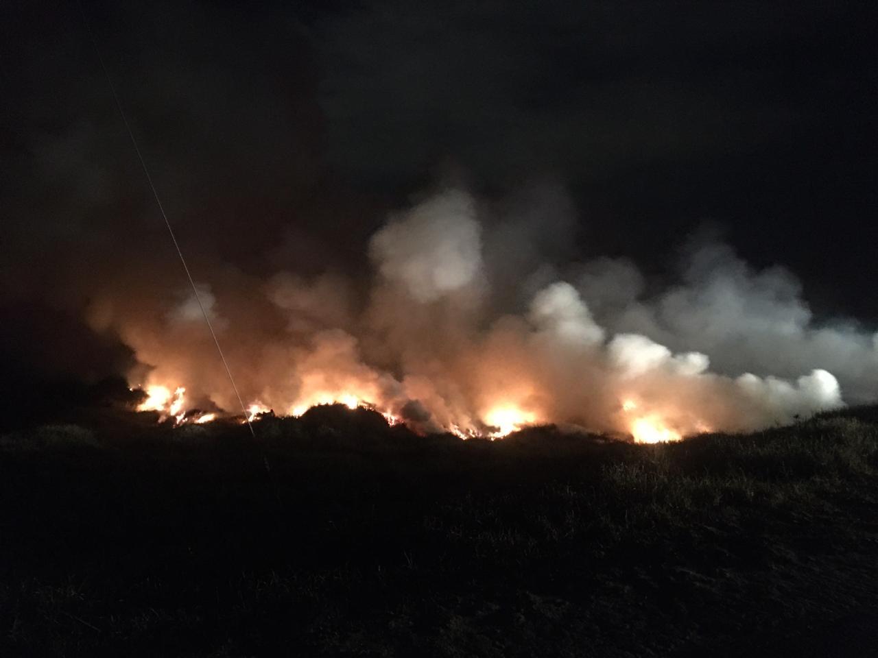 Habitantes de calle habrían causado incendio en Bogotá