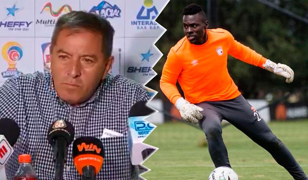 Geovanni Banguera acusó al presidente de Santa Fe de racista