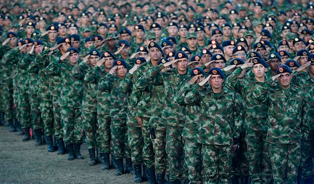 Fuerzas Militares en acuartelamiento por paro nacional