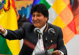 Evo Morales será el jefe de campaña de su partido