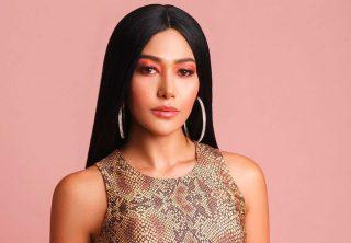 El trasero de la cantante Farina se roba la atención