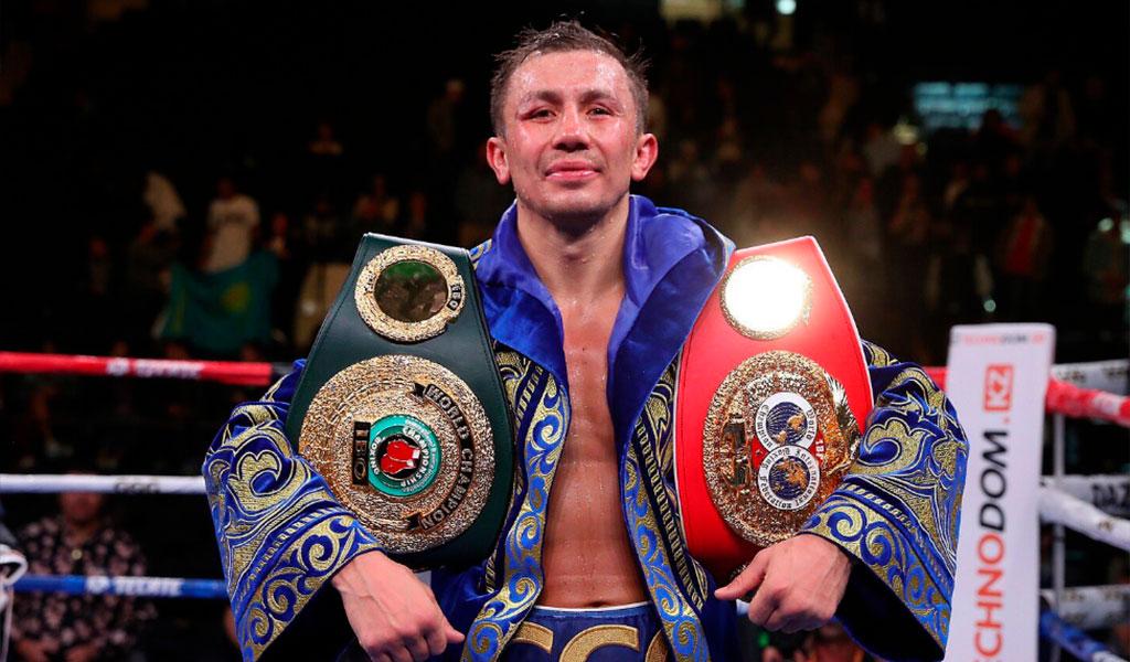 Gennady Golovkin logró recuperar el título medio de la FIB