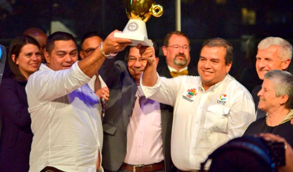 Premio Internacional del Café fue otorgado a excombatientes