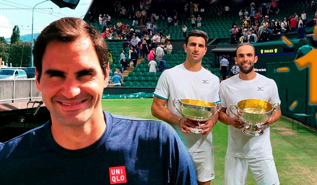 El mensaje de Roger Federer a Cabal y Farah