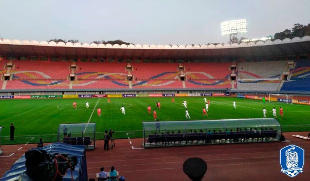 Empate 0 – 0 entre Corea del Sur y del Norte