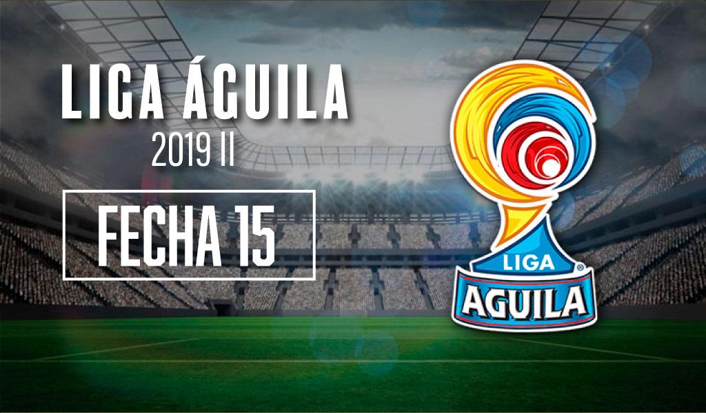 Cambios en la jornada 15 de la Liga Águila – II 2019