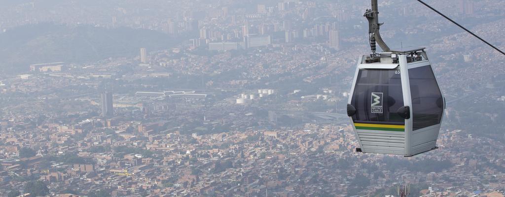 Tres metrocables en Medellín entrarán en mantenimiento