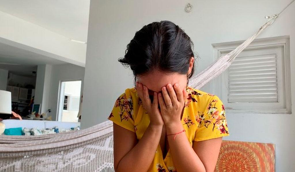 El llanto desconsolado de Natalia Reyes