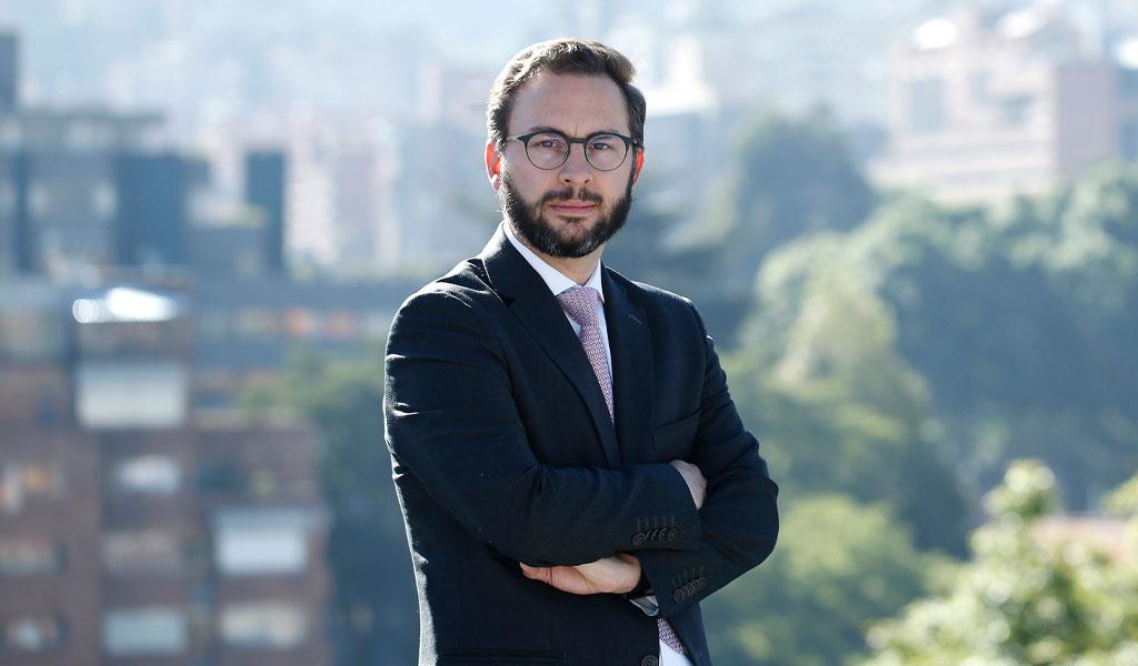 Él es el nuevo presidente de la Cámara de Comercio de Bogotá