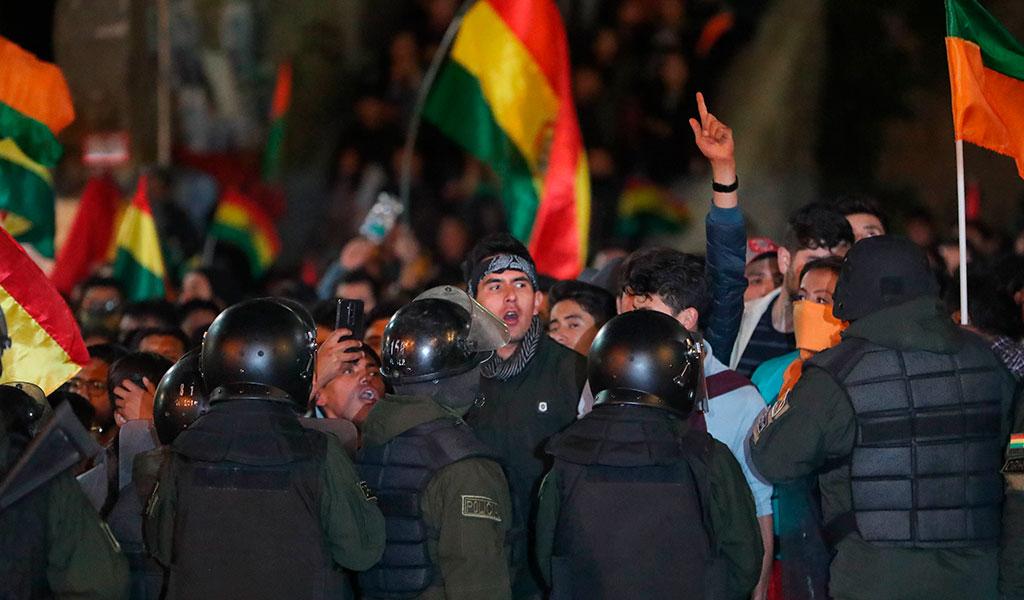 La CIDH denuncia 23 muertos y 715 heridos en las protestas en Bolivia