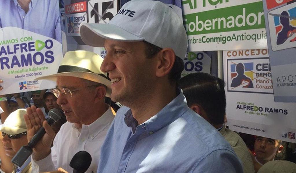 Alfredo Ramos sigue liderando encuestas en Medellín