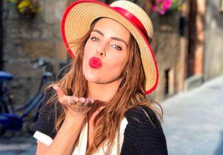 Sara Corrales se luce con sensual lencería