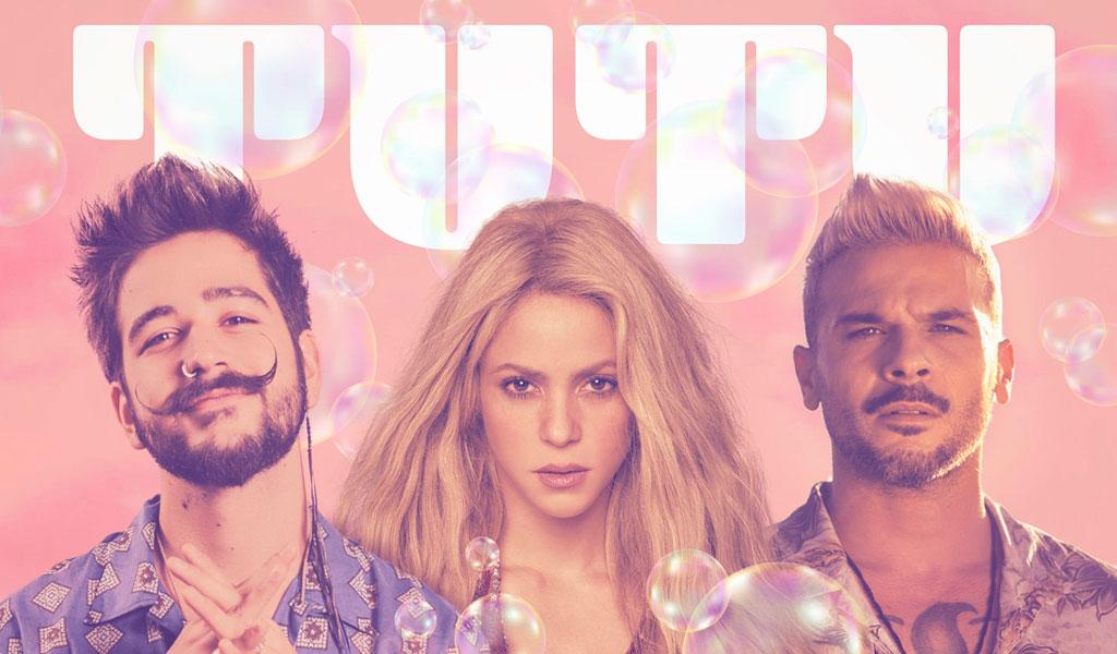 'Tutu remix', el éxito de Camilo, Shakira y Pedro Capó