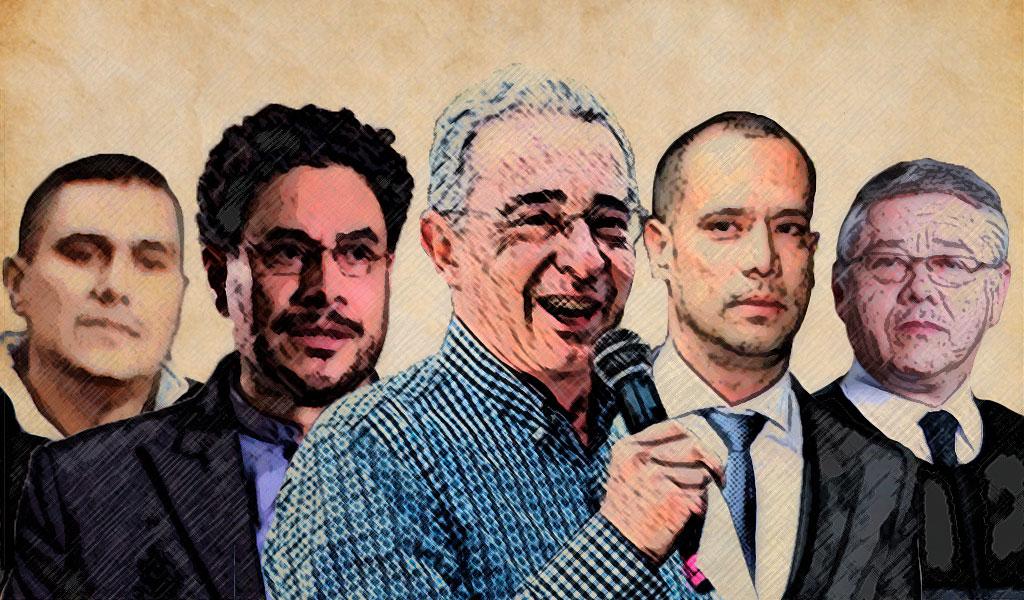 ¿Quién es quién en el discurso de Álvaro Uribe?