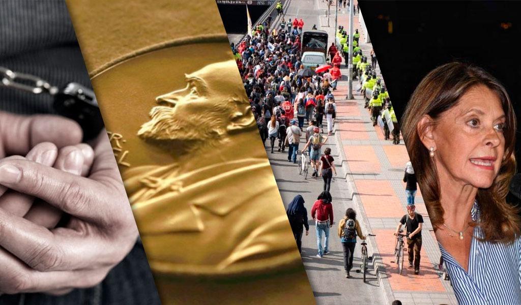 ¿Por qué son noticia las marchas y el Galeón San José?
