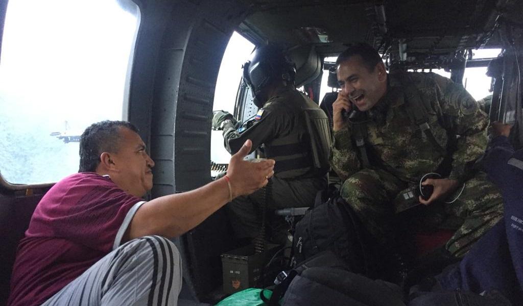 secuestrados, rescatan, Ejército