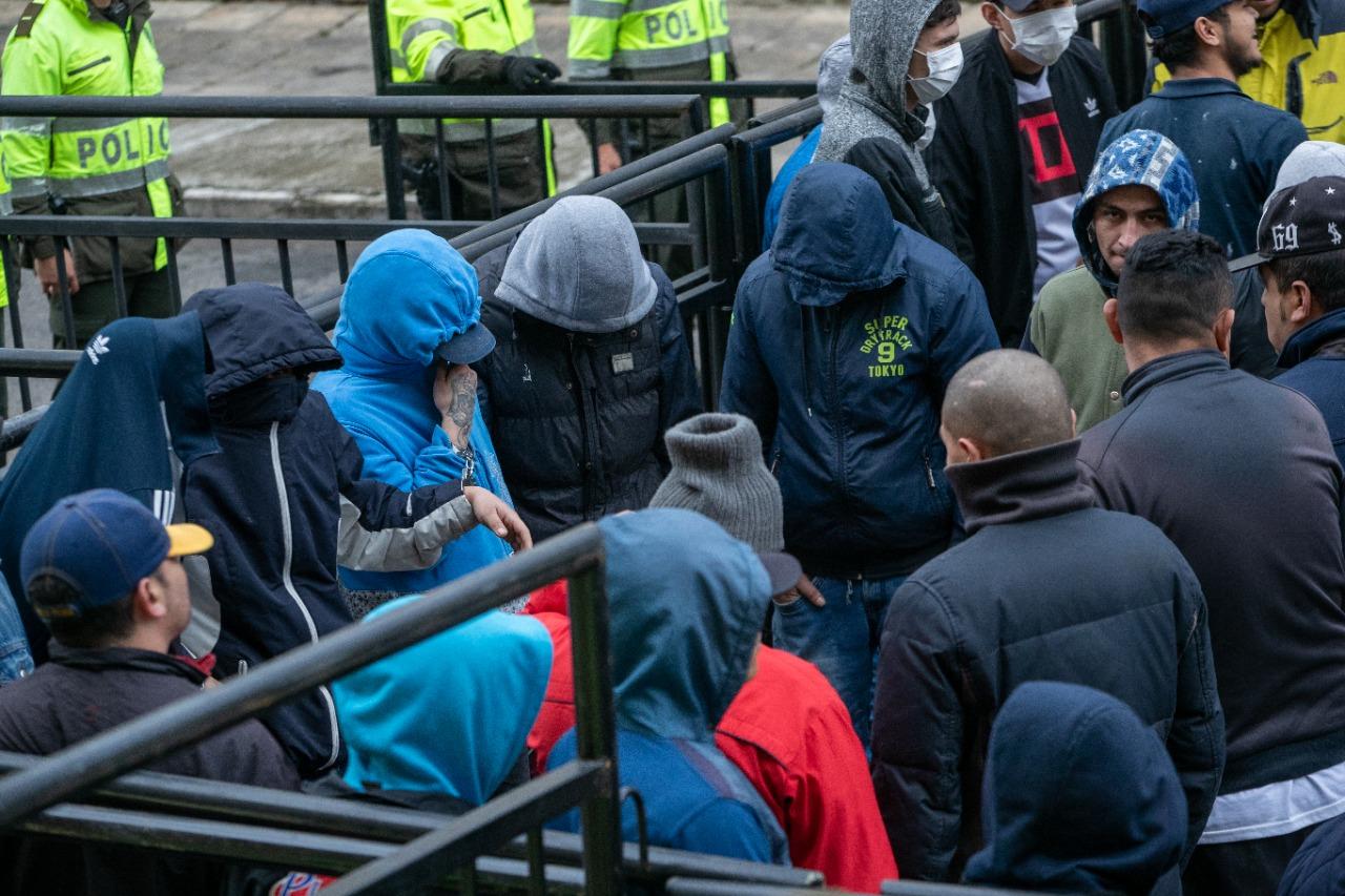 Capturan 1.013 personas dedicadas a delinquir en Bogotá