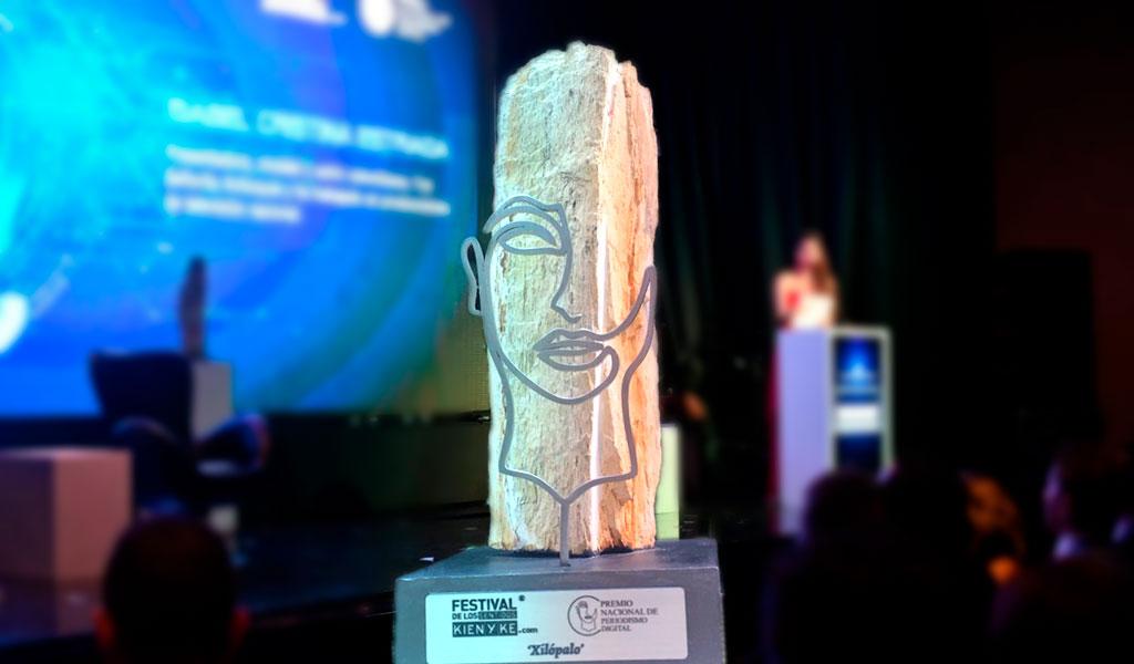 Así fue la entrega del Premio Nacional de Periodismo Digital