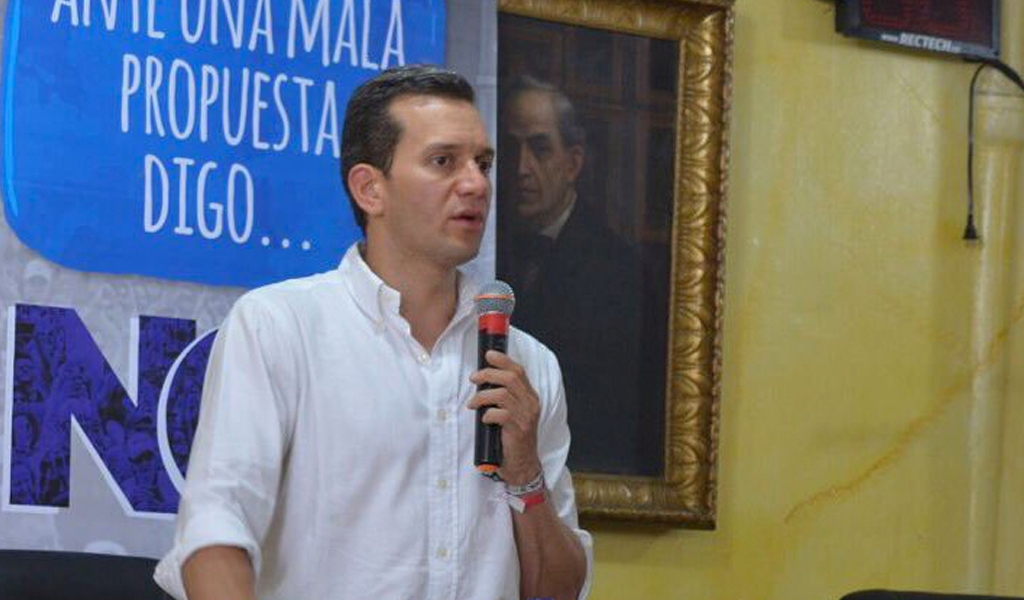 Alfredo Ramos lidera intención de voto en Medellín