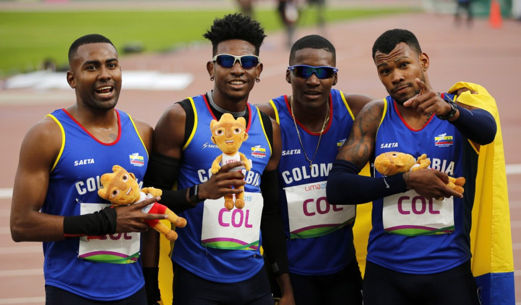 Doha, Mundial de Atletismo, Colombia, corredores, video, podio
