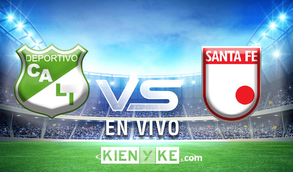 Empate 0 – 0 entre Santa Fe y el Deportivo Cali