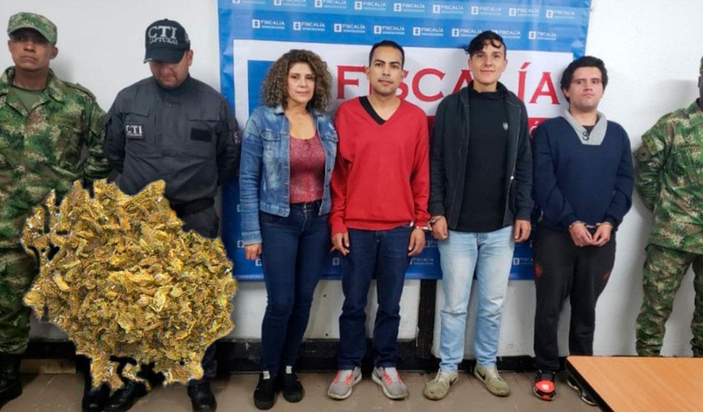 La banda que vendía brownies de marihuana en Bogotá